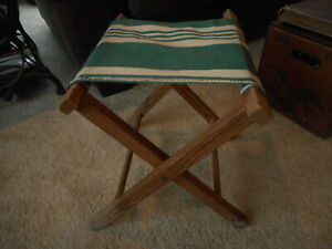 Fine Details About Vintage Camping Fishing Folding Stool Canvas Chair Lodge Cabin Country Decor Camellatalisay Diy Chair Ideas Camellatalisaycom