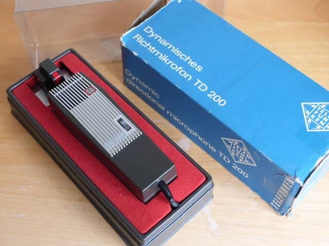 60s Telefunken Dynamic Microphone