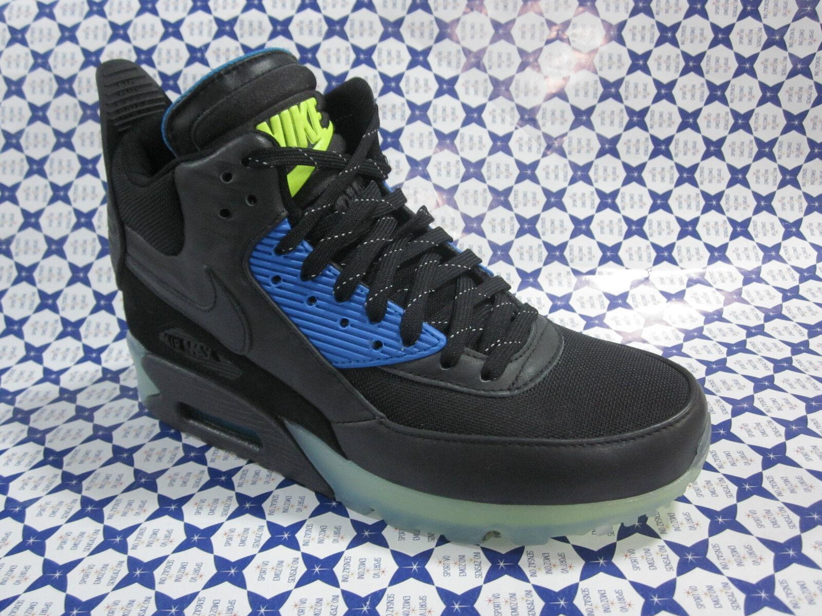 Scarpa Nike  Air Max 90 Sneakerboot Ice Mid -  Nike Nero - Royal 684722 85423f