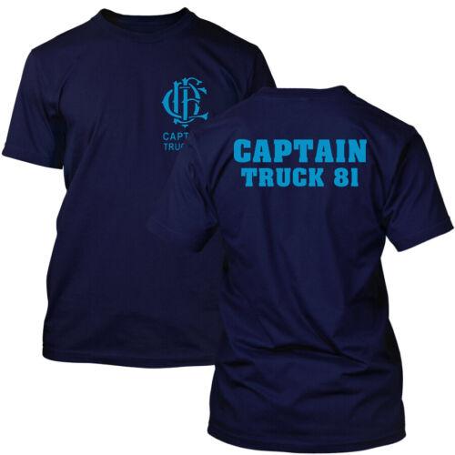 Chicago Fire Dept Captain Truck 81 T-Shirt