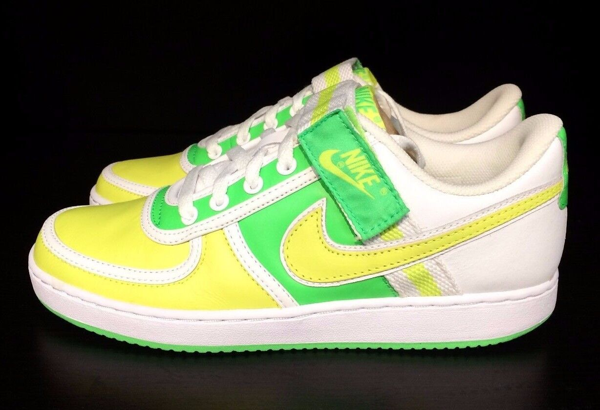 NIKE VANDAL LOW RADIANT GREEN SONIC YELLOW CASUAL MEN Price reduction Cheap and beautiful fashion