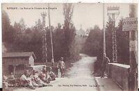 France Revigny - Le Pont et le Chemin de la Chapelle & Soldiers old postcard
