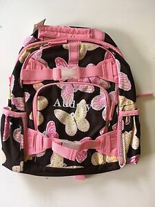 Pottery Barn Kids Small Butterfly Backpack Girls Pink