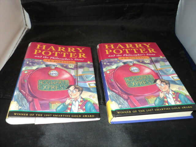 Harry Potter and the philosopher's stone Published by Ted Smart 7th ever print