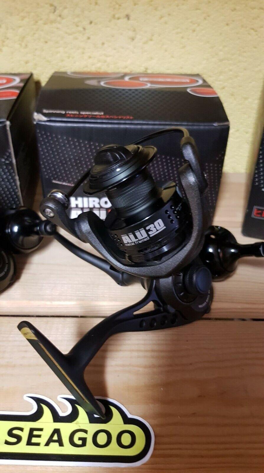 Nomura Hiro ALU 30 11bb con struttura in mettuttio, Fisse Fisse Fisse Bobina Spinning Mulinello da pesca esca, 415