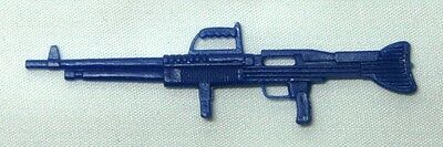 Cannell Galoob A-Team General Patch Accessory Vtg Weapon M-60 Rifle Blue