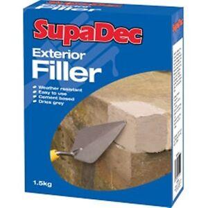 Outdoor Weather Resistant Exterior Filler Powder 1 5kg Brick Block Waterproof Ebay