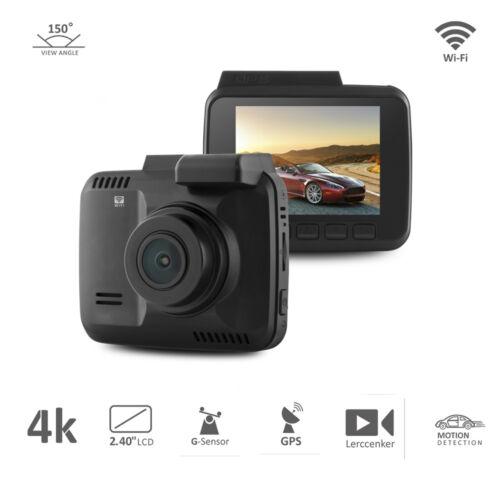 4K Car Dash Cam 4K Ultra HD 2160P Built-In WiFi GPS Parking Mode car dvr camera