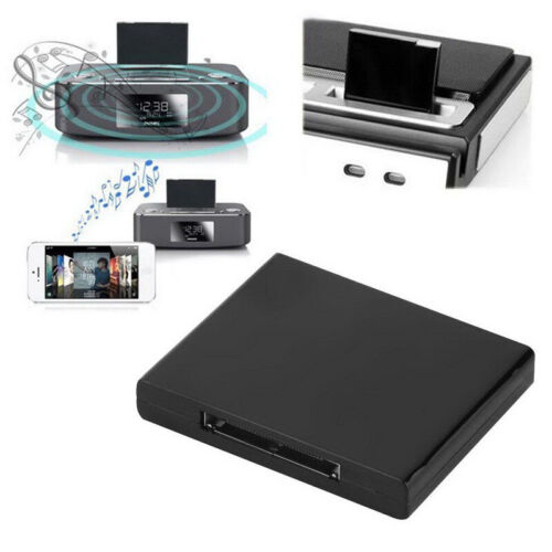 Bluetooth Music Audio Receiver Adapter For iPod iPhone 30 Pin Dock Speaker Doc