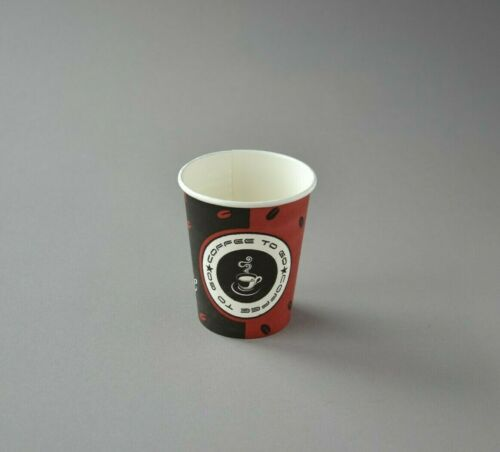 1000 Coffee to go Becher 200ml Pappbecher Kaffeebecher Ø 80 mm Made in Germany