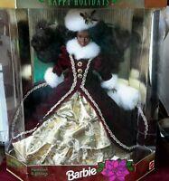 Mattel 1996 Happy Holidays Barbie - 0074299156465