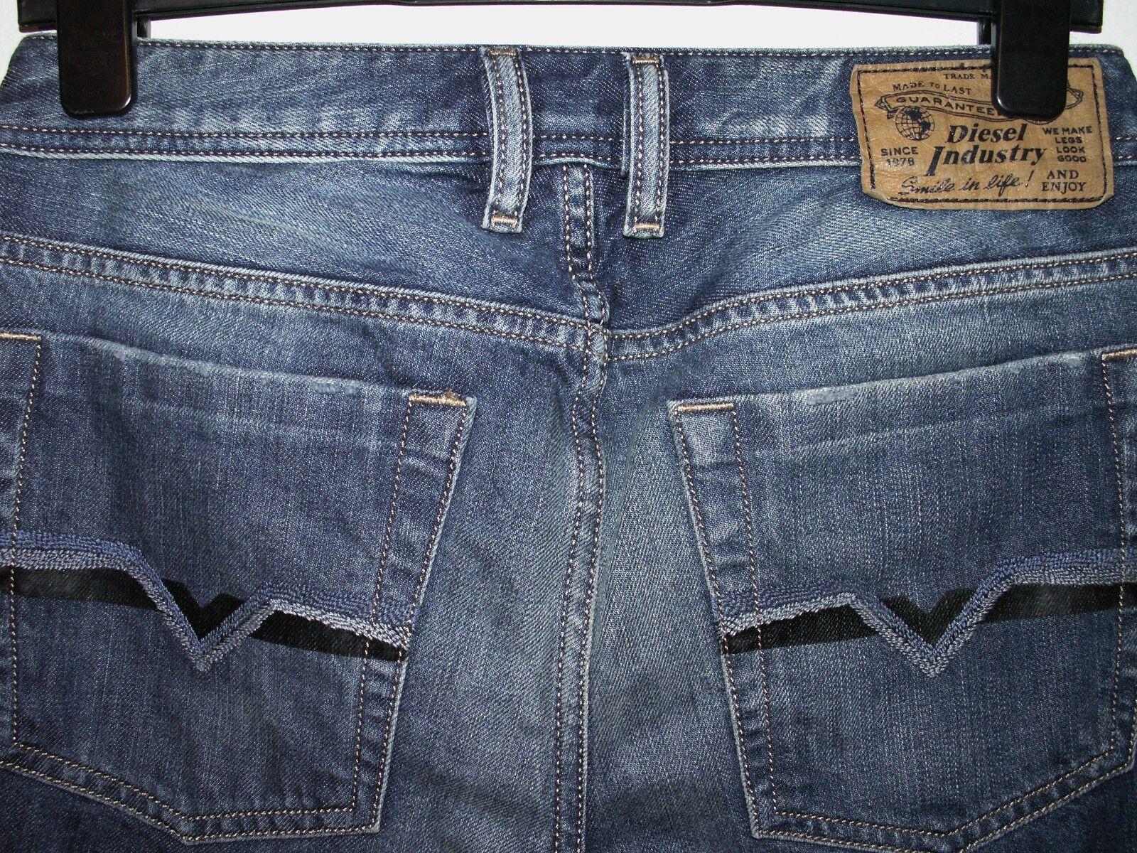 Diesel zatiny bootcut jeans wash 008XR W28 L30 (a3357)