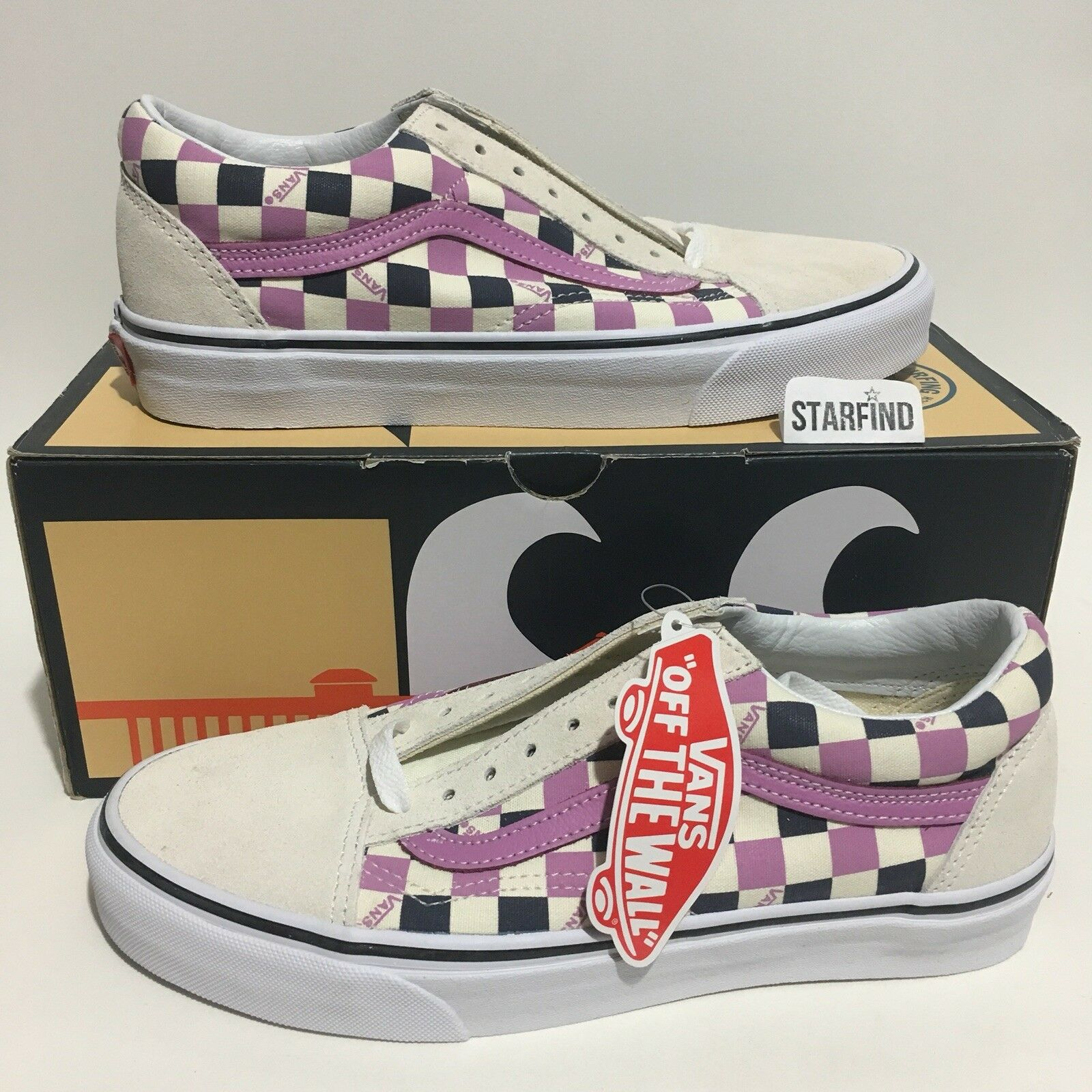 Vans Old Skool HB Surf US Open purple Checker Men 7   Women 8.5 Rare shoes 2018