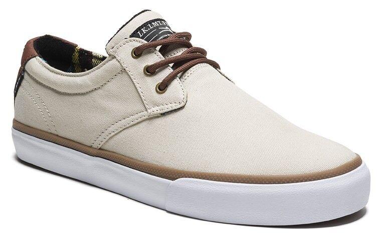 Lakai Shoes MJ cream canvas sneaker Marc Johnson Skate NEUWARE portofrei 42