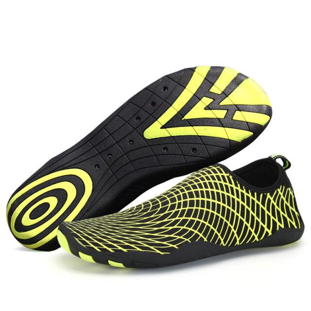 db47fc5734fe SAGUARO New Unisex Water Shoes Surf Barefoot Aqua Beach Slip On Skin Socks  Sport