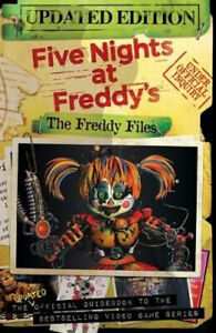 The-Freddy-Files-Updated-Edition-Five-Nights-At-Freddy-039-s-Scott-Cawthon