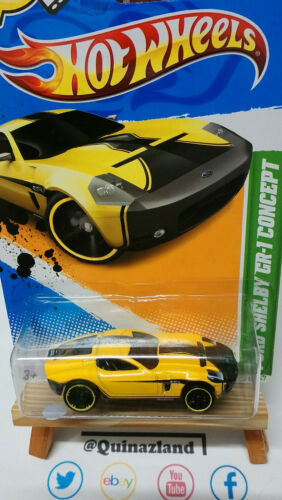 CP08 Hot Wheels Treasure Hunt Ford Shelby GR-1 Concept 2012-061