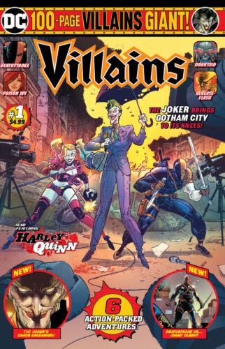09//10//2019 DC VILLAINS GIANT #1