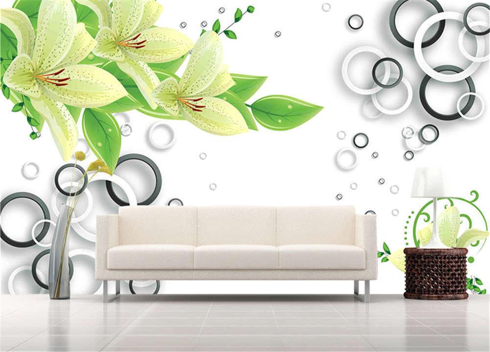 Good Habitual Flower 3D Full Wall Mural Photo Wallpaper Printing Home Kids Decor