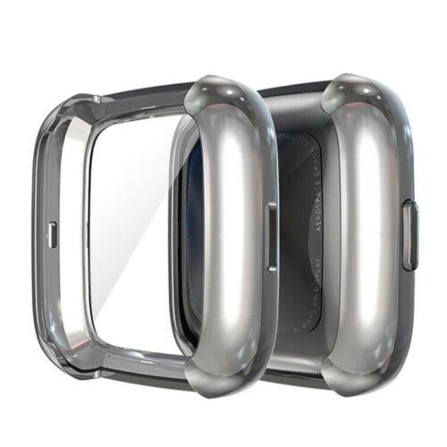 Pour Fitbit Versa 2 regarder plein écran Protector Housse Etui de protection