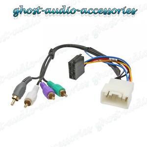 toyota tundra active car stereo radio iso wiring harness adaptor