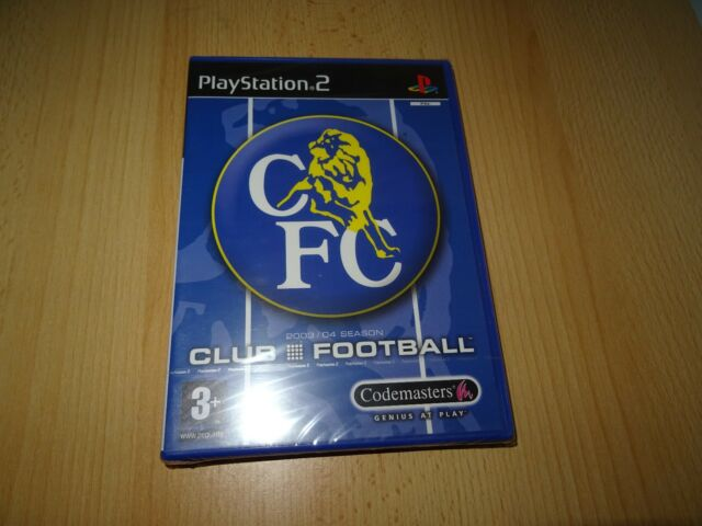CFC Chelsea Football Club 2003/4 Season - PlayStation 2 PS2 - New & Sealed pal