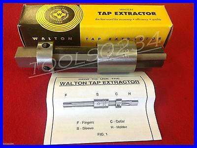 Tap Extractor 2 Flute Free Shipping  USA MADE 6mm New Walton 10252 1//4/""