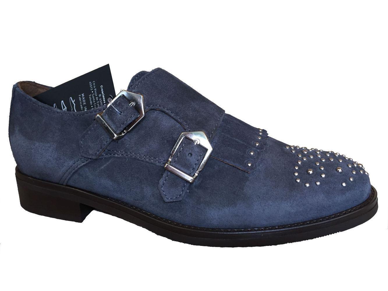 ALPE ALPE ALPE 31551146 DOUBLE MONK STRAP asphalt grigio suede scarpe | Nuovo Prodotto  | Scolaro/Signora Scarpa  4f835f