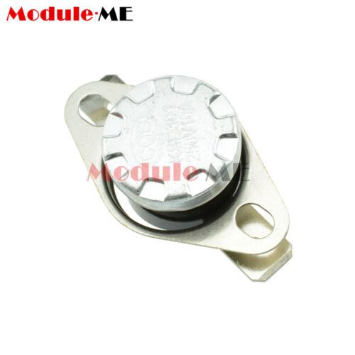 5PCS 10A 250V KSD301 30°C 104°F N.O Temperature Switch Thermostat