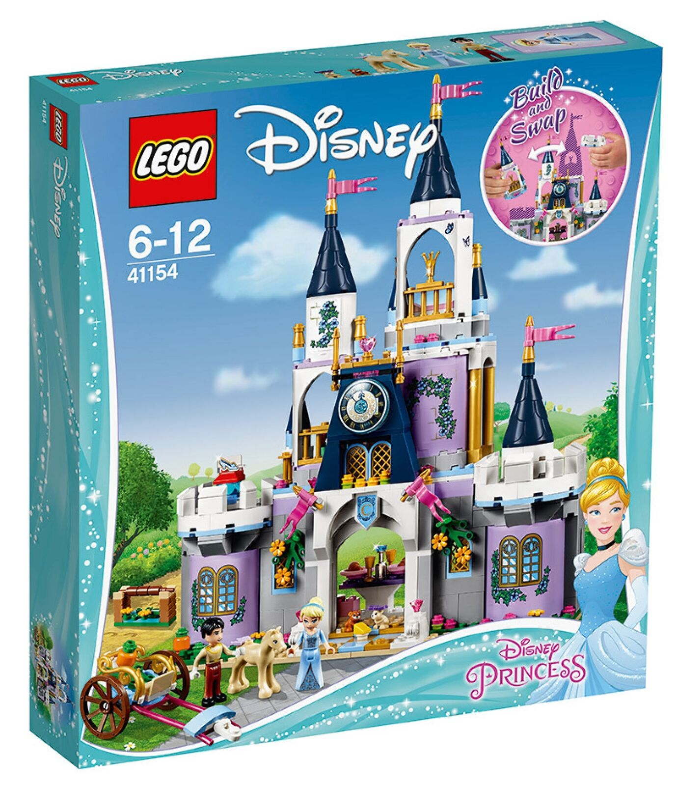 41154 LEGO Princess: castello di Cenerentola