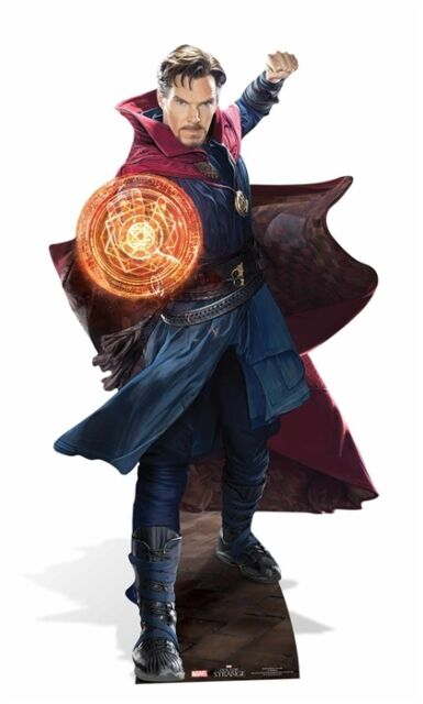 Dr Strange Marvel Official Cardboard Cutout / Standee / Standup Cumberbatch