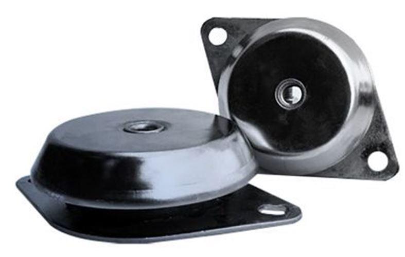 Rs pro Redondo M12 Metal 600kg Antivibración Soporte 600kg Metal Compresión Soporte,92mm d75761