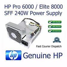 HP Pro 6000/Elite 8000 SFF 240W fuente de alimentación 503376-001 508152-001 PC8019