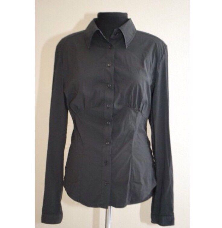 D&G schwarz damen's Shirt With Lace Größe M