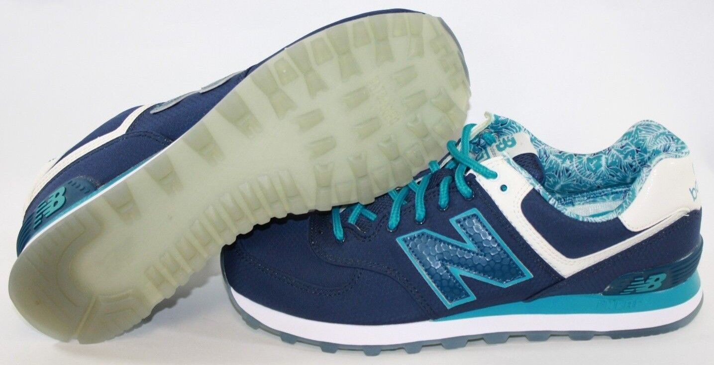 NEW Uomo NEW BALANCE 574 ILB Blue Teal retro Training Running  Shoes