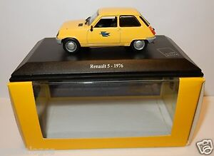 NOREV-RENAULT-5-R5-1976-POSTES-POSTE-PTT-1-43-in-luxe-box