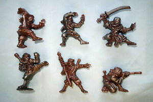 Ninja-Set-6-Ninjas-Oritet-Plastic-Toy-Soldiers-from-Russia-54mm-Very-RARE
