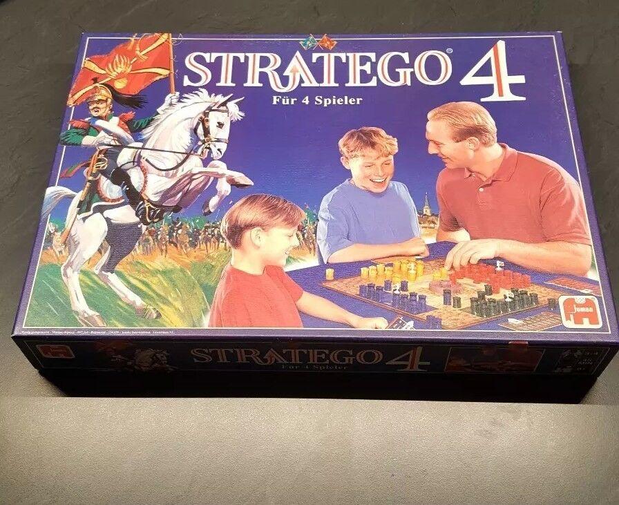 Stratego 4 für 4 Spieler selten  rar