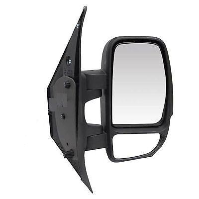 RENAULT MASTER 2003-2010 BLACK ELECTRIC DOOR WING MIRROR DRIVER SIDE OFF SIDE RH