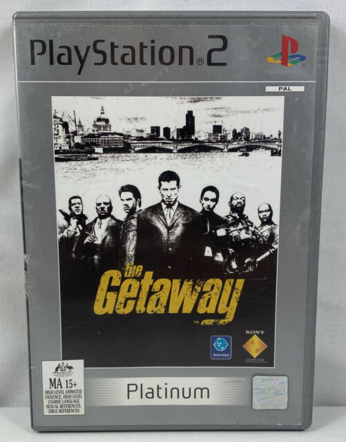 THE GETAWAY PS2 - Complete With Manual Free Postage