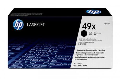 10 Virgin Empty Genuine Used HP 49X Laser Cartridges Q5949X
