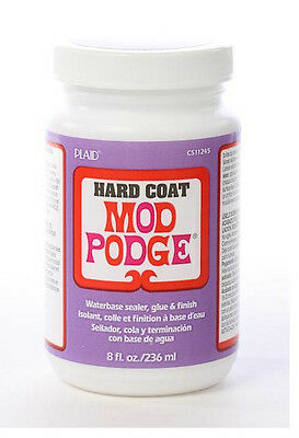 Plaid Mod Podge Decoupage Satin Hard Coat 8oz CS11245