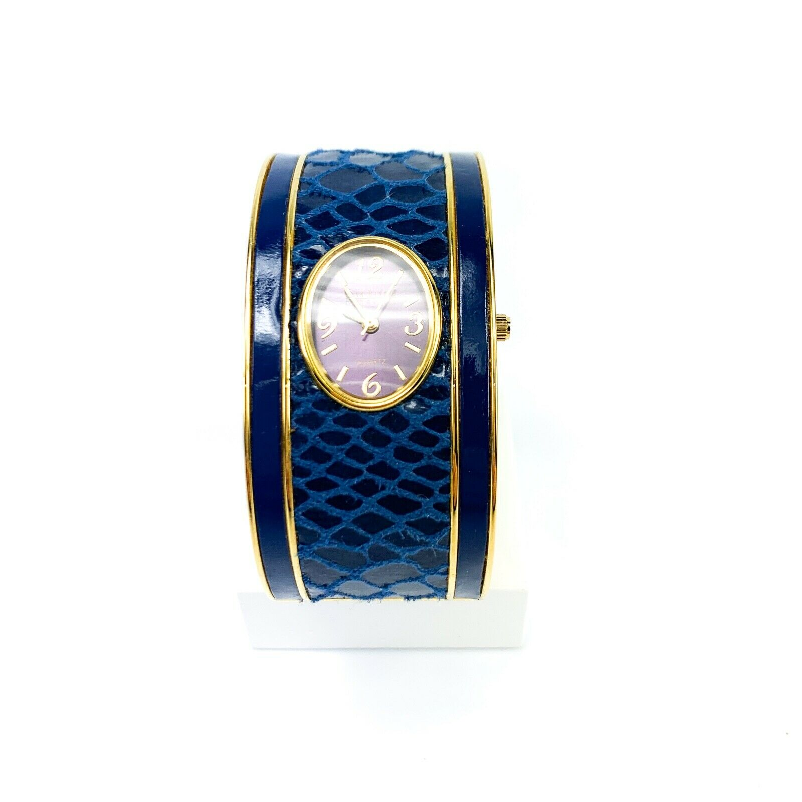 Qvc Joan Rivers Simply The Best Hinged Bangle Watch For Sale Online Ebay