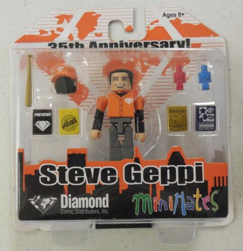 Minimates STEVE GEPPI 35th Ann Diamond Comics Distributor C2E2 Art Asylum MIP