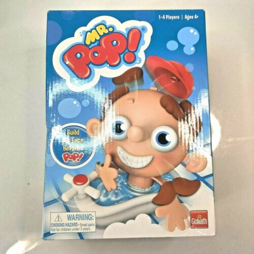 Pop New Fast Free Shipping Goliath Mr Game 1-4 Player Ages 4