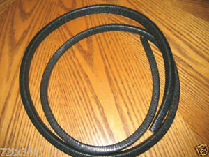 VINTAGE SNOWMOBILE Hood Trim Edging Molding Arctic Cat Sleigh CUTTER 10 ft