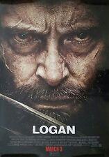 Marvel LOGAN 2017 Original Version C DS 2 Sided 4x6' US Bus Shelter Movie Poster