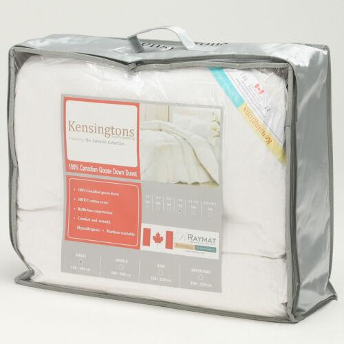 Kensingtons® Canadian Goose Down Comforter Duvet Insert All Togs 700  Fill Power