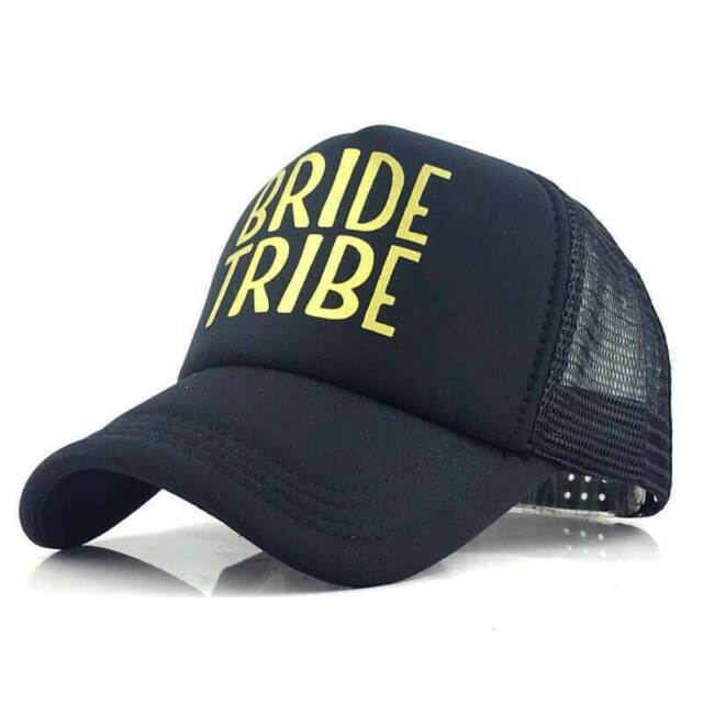 Team Bride Set Snapback Mesh Trucker Hat Cap Bachelorette Can Cover Party Weekend