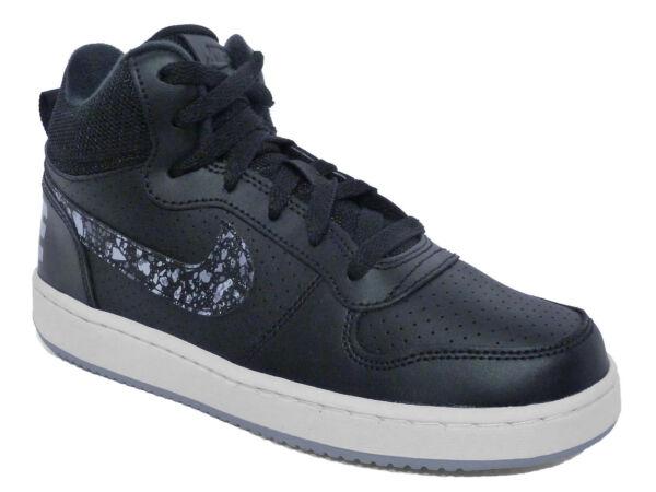 Scarpe alte Lacci Court Borough Mid Print Ragazza 845103002 Nike Non  applicabile Grigio argento 38 5  34a3a40f52b